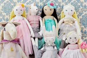 Pottery Barn Kids Doll Collection