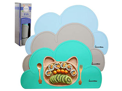 UpwardBaby Silicone Suction Placemats