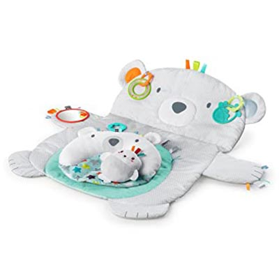 Bright Starts Tummy Time Prop and Play Mat