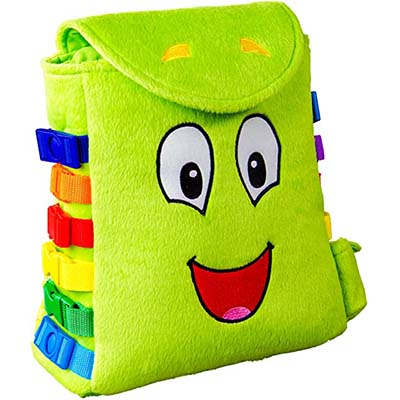Buckle Toy – Buddy Backpack