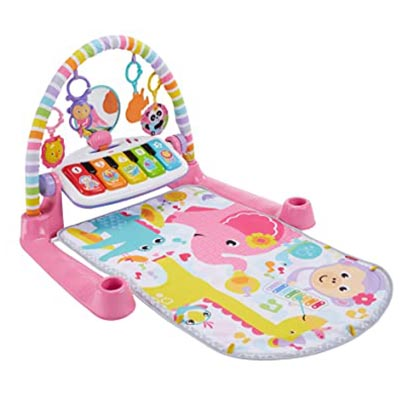 Fisher Prince Deluxe Kick and Play Piano Gym