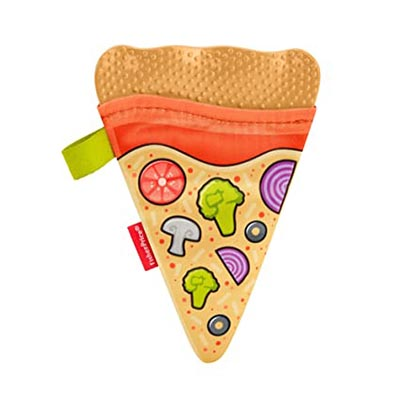 Fisher Prince Pizza Slice Teether
